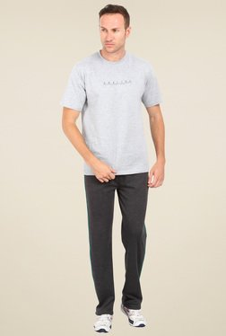 Proline Dark Grey Regular Fit Track Pant