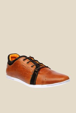 Buckaroo New Fraco Tan & Black Casual Shoes