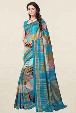 499afc2eb91 Ishin Multicolor Checks Art Silk Saree Best Deals With Price ...