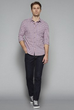 Westsport by Westside Pink Slim Fit Shirt