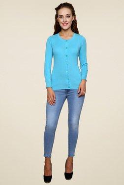 Renka Light Blue Full Sleeves Top