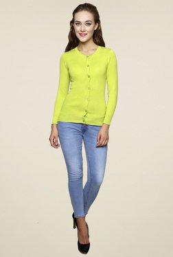 Renka Green Full Sleeves Top