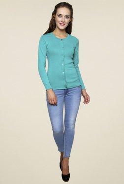 Renka Turquoise Full Sleeves Top
