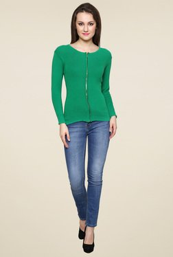 Renka Jade Full Sleeves Round Neck Top