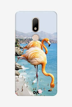 DailyObjects Flamingos On The Beach Case For Moto M