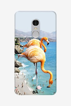 DailyObjects Flamingos On The Beach Case For Redmi Note 4