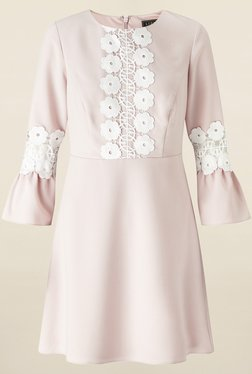 Lipsy Pink Lace Dress