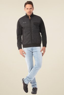 Yoo Charcoal Regular Fit Jacket
