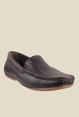 Gen X by Metro Dark Brown Formal Loafers