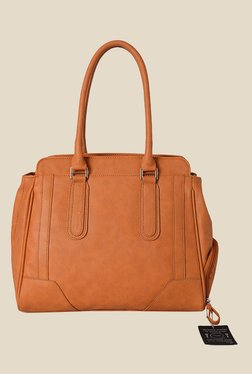 Baggit Rapture1 Dora Orange Synthetic Solid Shoulder Bag