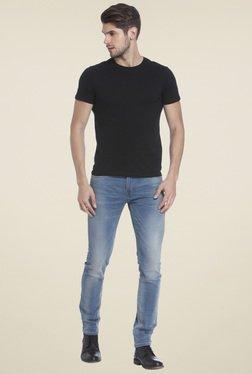 Jack & Jones Black Crew Neck Slim Fit T-Shirt