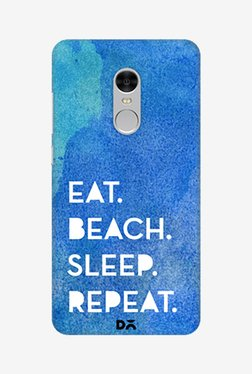 Eat Beach Sleep Repeat Water Case for Redmi Note 4