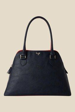 Baggit Creator Dora Navy Synthetic Solid Shoulder Bag