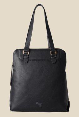 Baggit State Bindas Black Synthetic Solid Shoulder Bag