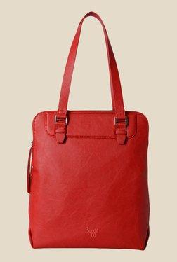 Baggit State Bindas Red Synthetic Solid Shoulder Bag