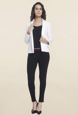 Vero Moda White Solid Blazer - Mp000000001090241
