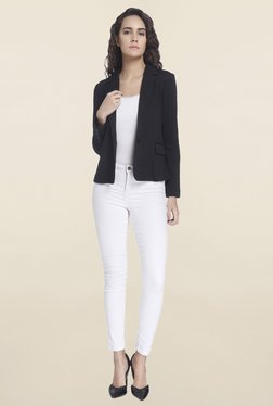 Vero Moda Black Solid Blazer - Mp000000001092333