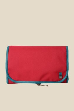 Baggit Heritage Sasha Dark Red Solid Travel Pouch