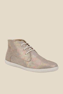La Briza Metallic Gold Chukka Boots