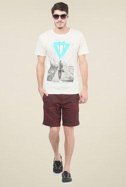 Mode Vetements Off-white Round Neck T-shirt