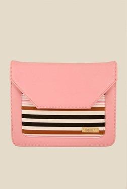 Horra Pink Striped Sling Bag