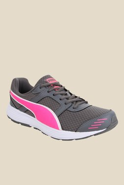 Puma Harbour IDP Grey & Pink Running Shoes
