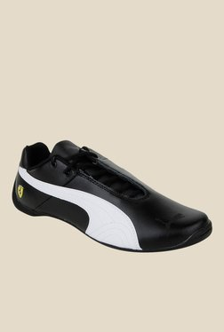 Puma Ferrari Future Cat SF Black & White Sneakers