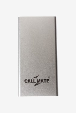 Callmate PBLP8000SL 8000 MAh Power Bank (Silver)