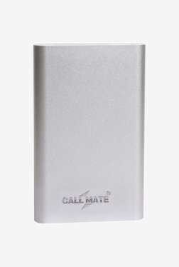 Callmate PBTP8000SL 8000 MAh Power Bank (Silver)