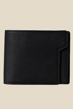 Baggit Dreamers Andrew Black Textured Wallet