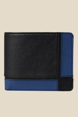 Baggit Monolithic Times Black Textured Wallet