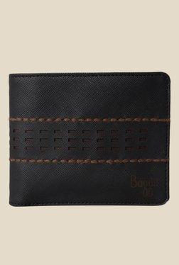 Baggit Rack Andrew Black Textured Wallet