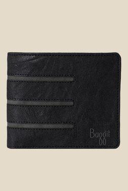Baggit Blazer Upton Black Textured Wallet