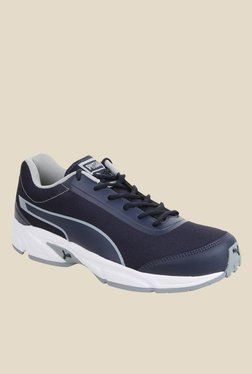 Puma Rafter IDP Navy & White Running Shoes