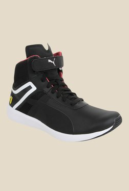 Puma Ferrari SF F116 Black & White Sneakers