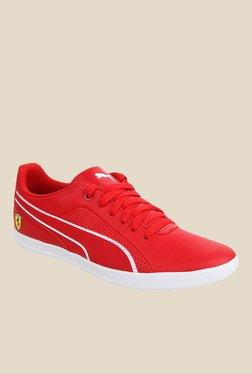 Puma Ferrari SF Selezione Red & White Sneakers