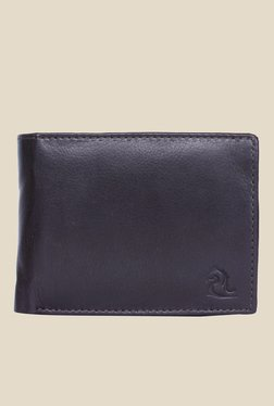 Kara Dark Brown Solid Bi-Fold Leather Wallet - Mp000000001113234