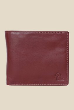 Kara Brown Solid Bi-Fold Leather Wallet - Mp000000001113338
