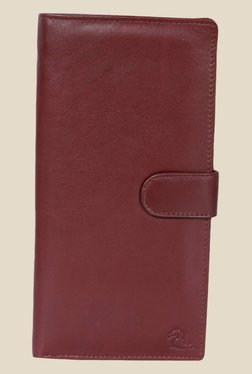 Kara Tan Solid Bi-Fold Leather Wallet