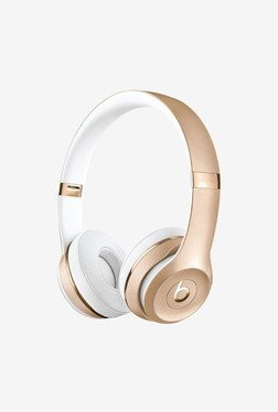 Beats Solo3 Wireless Over the Ear Headphone (Gold)