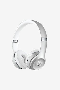 Beats Solo3 Wireless Over the Ear Headphone (Silver)