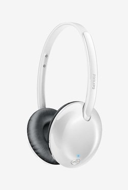 Philips SHB4405 Bluetooth Over Ear Headphone (White)