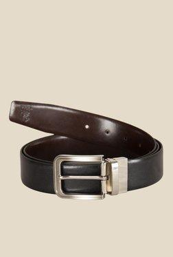 Kara Black Solid Leather Belt - Mp000000001113592