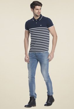 Jack & Jones Navy Short Sleeves T-shirt