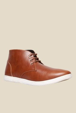 Bata Jhabbar Brown Chukka Boots