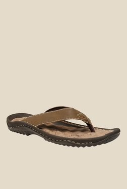 Weinbrenner Walk Brown Flip Flops