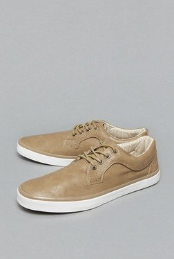 Westsport By Westside Beige Low Top Shoes