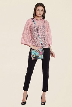 Cherymoya Pink Lace Shirt