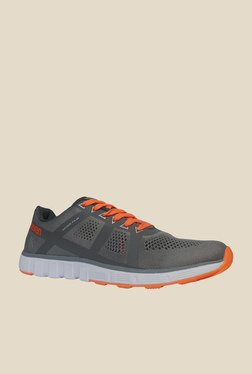 Zeven 360 Degree Fit Grip Grey Training Shoes