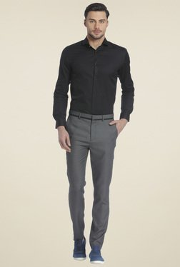 Jack & Jones Dark Grey Slim Fit Trousers